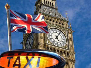 Licensed Black Taxi - London